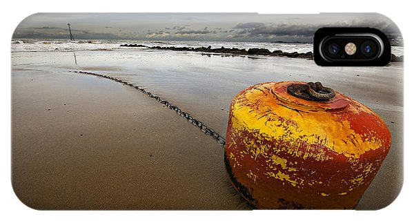 Beached Mooring Buoy IPhone Case