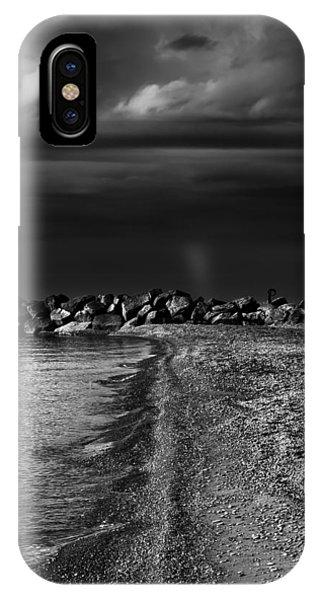 Beaches Park Toronto Canada Breakwall No 1 IPhone Case