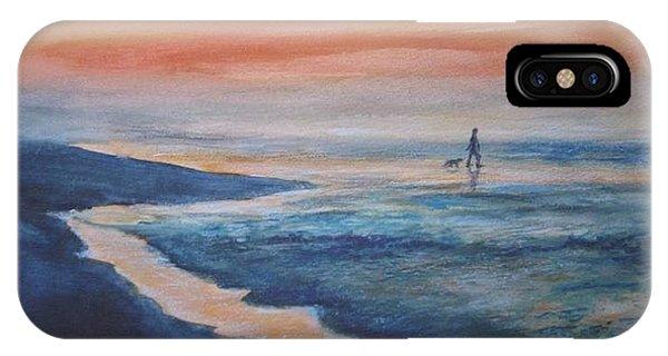 Beachwalker IPhone Case