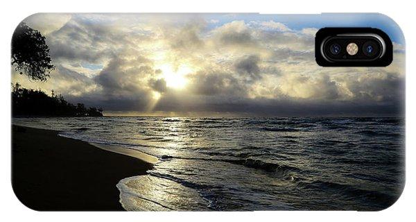 Beachy Morning IPhone Case