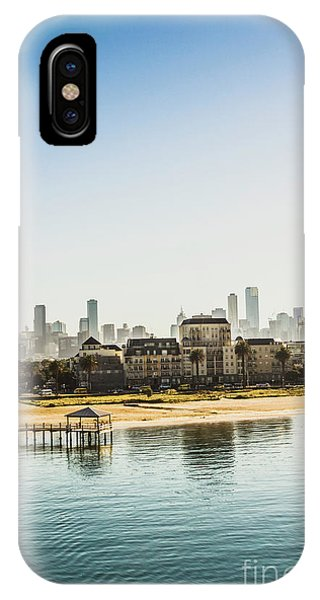 Oceanfront iPhone Case - Beacon Cove by Jorgo Photography - Wall Art Gallery