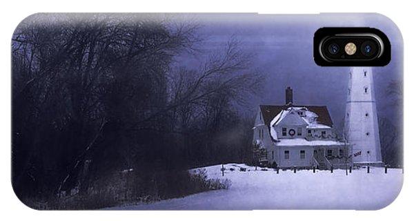 Lake Michigan iPhone Case - Beacon by Scott Norris
