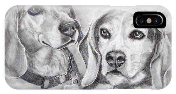Beagle Boys IPhone Case
