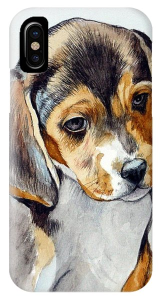 Beagle Puppy IPhone Case