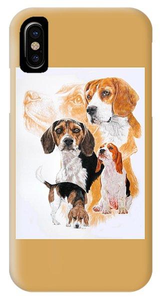 Beagle Hound Medley IPhone Case
