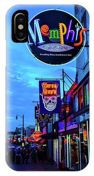 Beale Str. Blues  IPhone Case