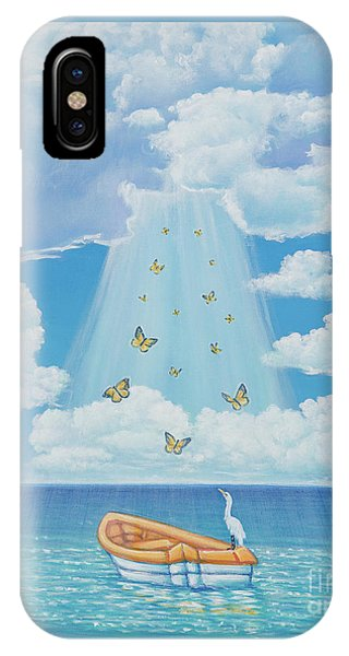 Beam Me Up IPhone Case