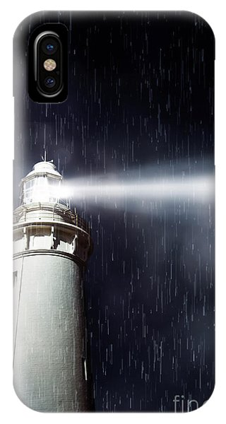 Nautical iPhone Case - Beaming Lighthouse by Jorgo Photography - Wall Art Gallery