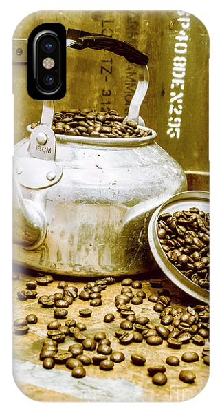Timeworn iPhone Case - Bean Shop Cafe by Jorgo Photography - Wall Art Gallery
