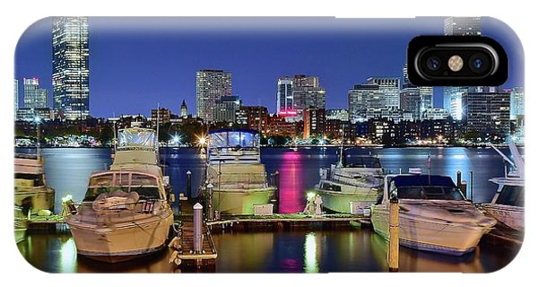 Bean Town iPhone Case - Bean Town Boston by Frozen in Time Fine Art Photography