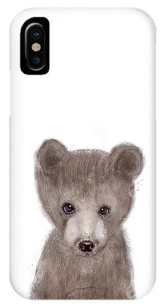 Brown Bear iPhone Case - Bear by Bleu Bri