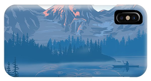 Rocky Mountain iPhone Case - Bear Country Scenic Landscape by Sassan Filsoof
