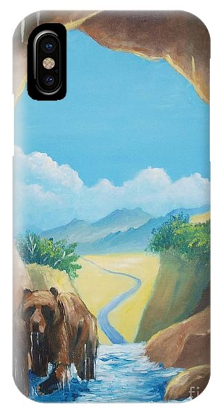 Bear Going Home IPhone Case