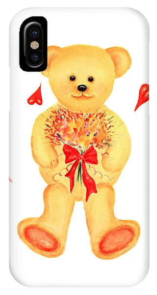 Bear In Love IPhone Case