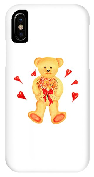Bear In Love IPhone Case