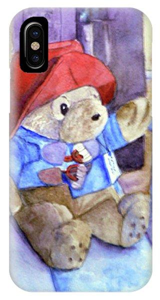 Bear In Venice IPhone Case
