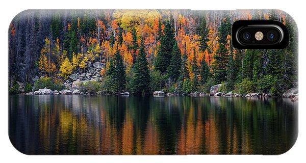 Bear Lake Autumn IPhone Case