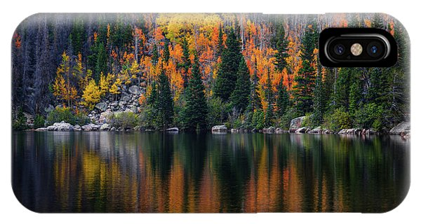 Bear Lake Autumn Reflections IPhone Case