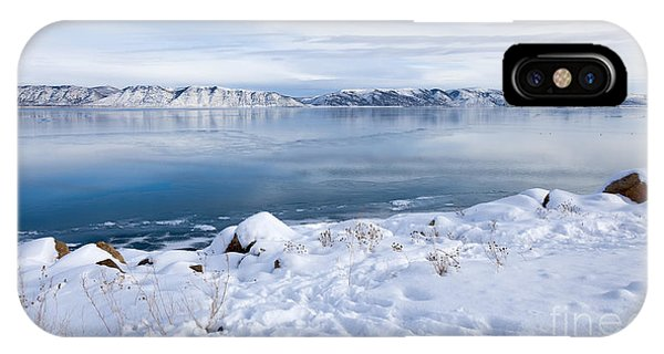 IPhone Case featuring the photograph Bear Lake Beauty Large Canvas Art, Canvas Print, Large Art, Large Wall Decor, Home Decor by David Millenheft