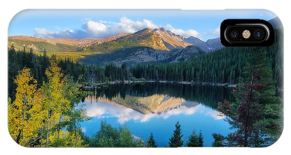 Bear Lake Reflection IPhone Case