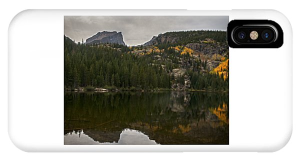 Bear Lake  Rocky Mountain National Park IPhone Case