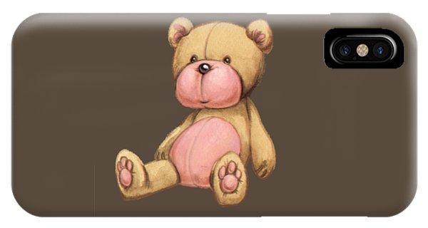 Bear Pink IPhone Case