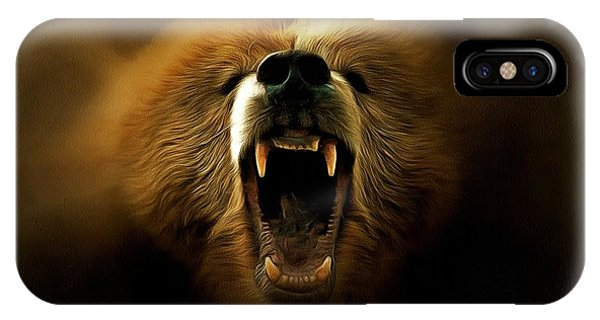 Bear Roar IPhone Case