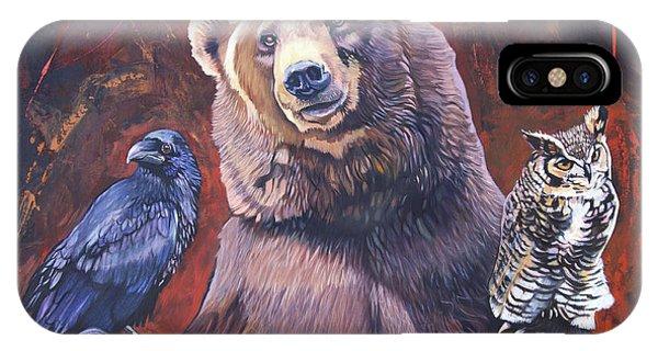 Bear The Arbitrator IPhone Case