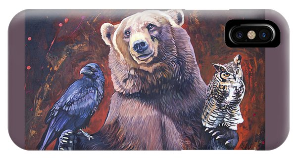 Bear The Arbitrator IPhone Case