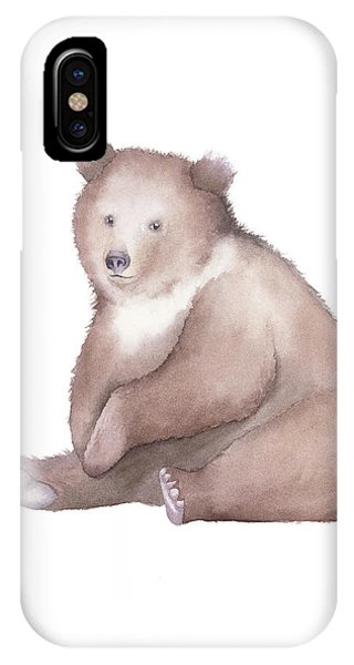 Bear Watercolor IPhone Case
