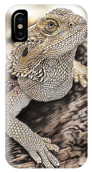 Bearded Dragon IPhone Case