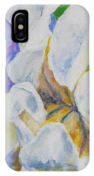 Bearded Iris IPhone Case