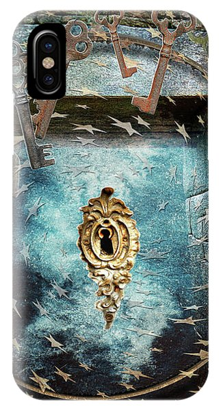 IPhone Case featuring the digital art Bearer Of The Keys by Louise Roach