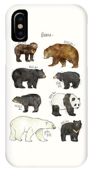 Fauna iPhone Case - Bears by Amy Hamilton
