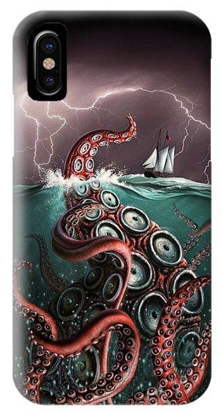 Beast iPhone Case - Beast 2 by Jerry LoFaro