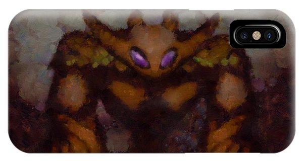 Strange iPhone Case - Beast Of My Dreams by Esoterica Art Agency