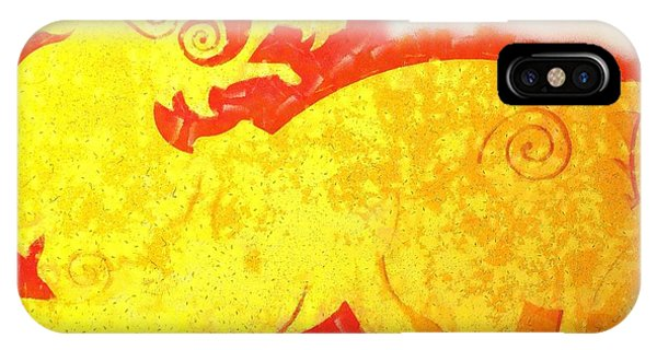 Strange iPhone Case - Beast Of Mythology by Esoterica Art Agency
