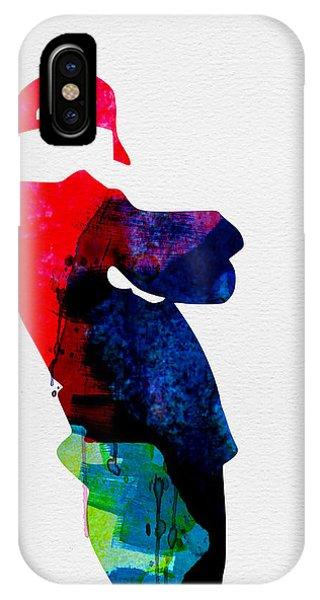 Boys iPhone Case - Beasty Watercolor by Naxart Studio