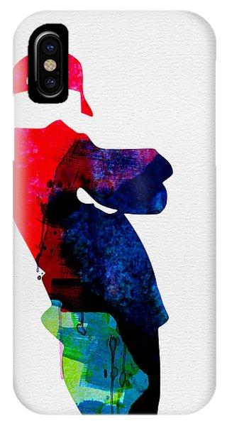 Beast iPhone Case - Beasty Watercolor by Naxart Studio