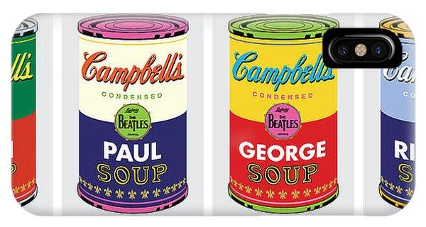 Beatle Soup Cans IPhone Case