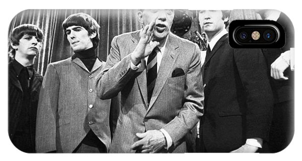 Beatles And Ed Sullivan IPhone Case