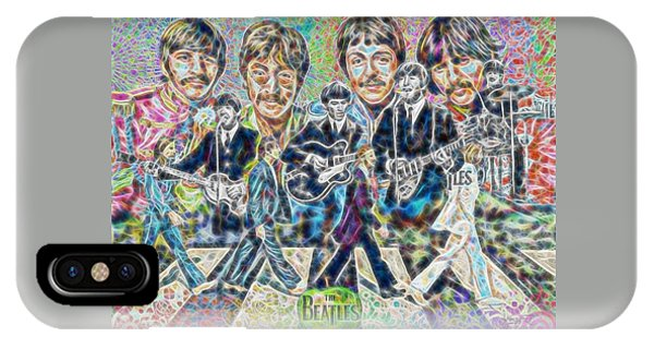 Beatles Tapestry IPhone Case