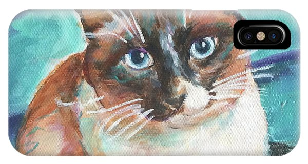 Beau Kitty IPhone Case