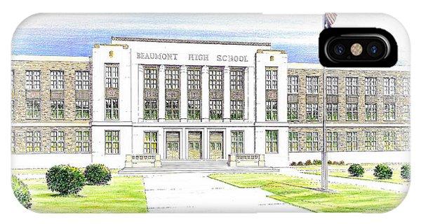 Beaumont High School IPhone Case