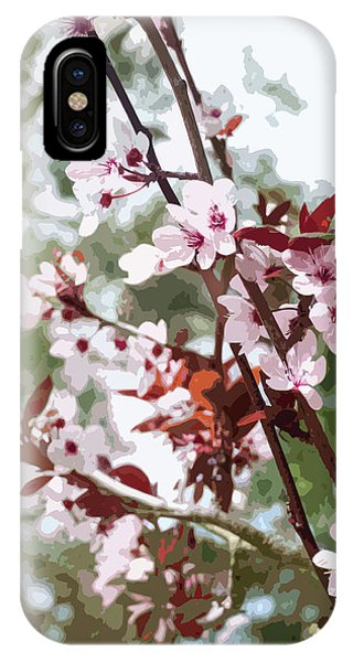 Beautiful Almond Blossoms IPhone Case