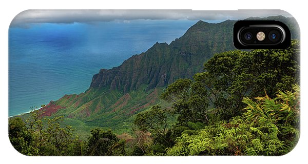 Beautiful And Illusive Kalalau Valley IPhone Case