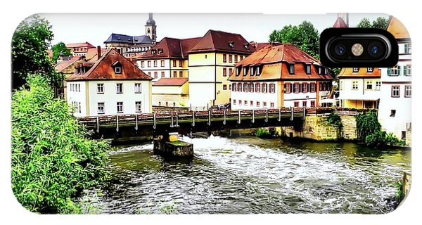 Beautiful Bamberg On The River IPhone Case