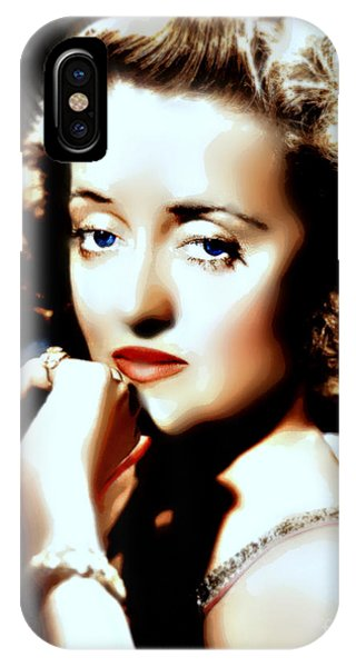 Beautiful Bette IPhone Case