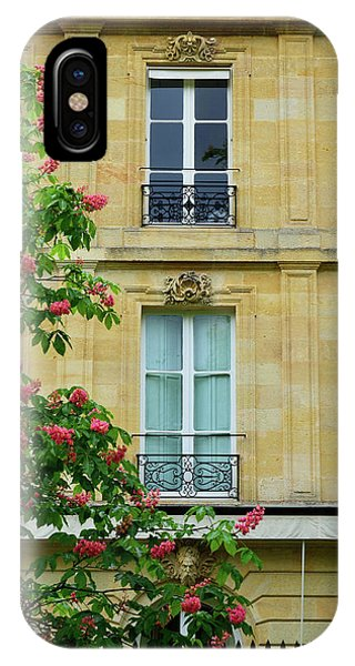 iPhone Case - Beautiful Building In Bordeaux by Kathy Yates