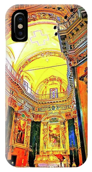 Beautiful Church In Nizza IPhone Case